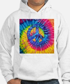 Peace Sign Hippie Hippy Psychede Hoodie