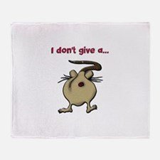 Unique Rats Throw Blanket