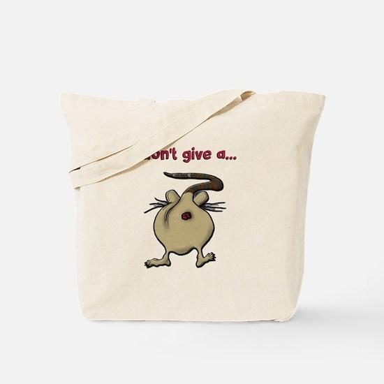 Funny Rats ass Tote Bag