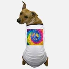Peace Sign Hippie Hippy Psychedelic Ti Dog T-Shirt