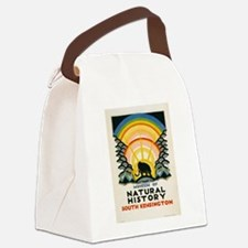 Vintage poster - South Kensington Canvas Lunch Bag