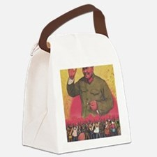 Funny Mao warhol Canvas Lunch Bag