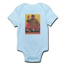 Vintage poster - Mao Zedong Body Suit