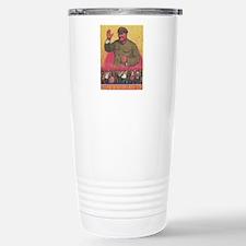 Vintage poster - Mao Ze Stainless Steel Travel Mug