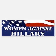 Women Against Hillary Bumper Bumper Sticker