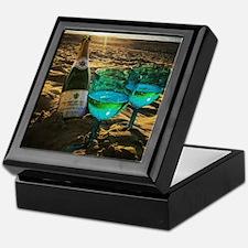 Unique Glass Keepsake Box