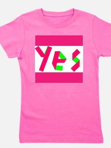 Yes! Girl's Tee