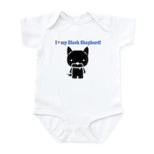 Black Shep Love Infant Bodysuit