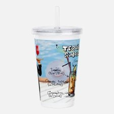 Unique Tequila Acrylic Double-wall Tumbler