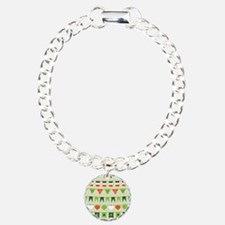 st patricks day flag Bracelet