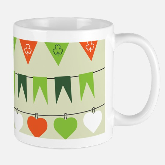 st patricks day flag Mugs