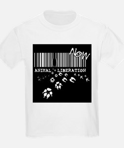 Animal Liberation Now - Until Every Cage i T-Shirt
