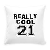 21 birthday Everyday Pillow