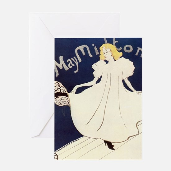 Vintage poster - May Milton Greeting Cards