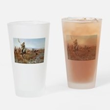Unique Oklahoma state cowboys mens Drinking Glass