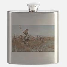 Unique Old west Flask