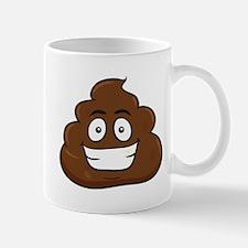 emoji poop Mugs