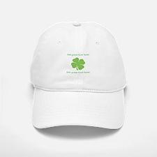 St. Patricks Day personalisable shamrock Baseball