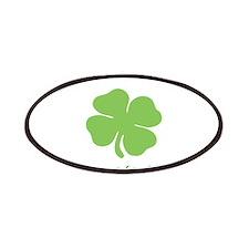 St. Patricks Day personalisable shamrock Patch