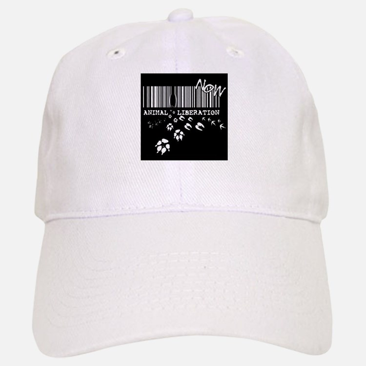 Animal Liberation Now - Until Every Cage is Em Baseball Baseball Cap