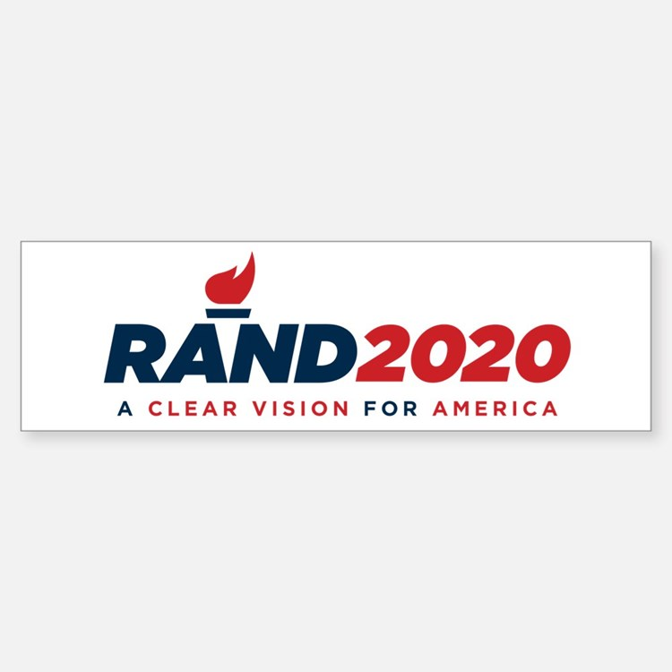 Rand Paul 2020 Bumper Bumper Bumper Sticker