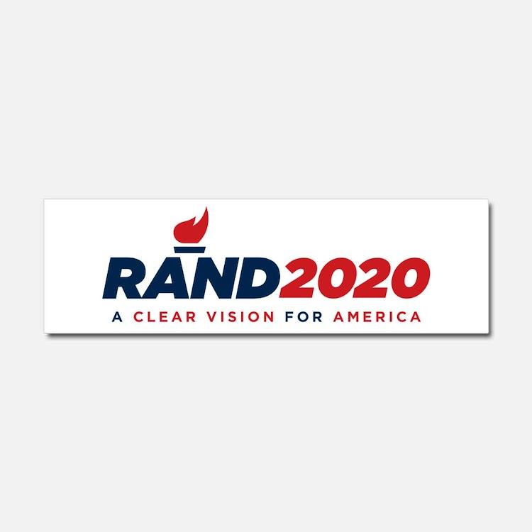 Rand Paul 2020 Car Magnet 10 X 3