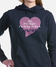 Cute Grandmother to be Women's Hooded Sweatshirt