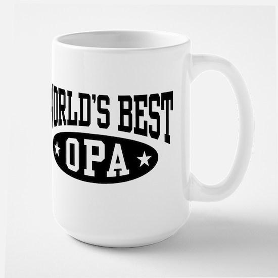 World's Best Opa Large Mug