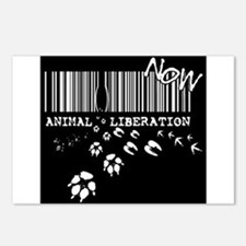 Animal Liberation Now - U Postcards (Package of 8)