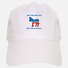 Democrat Donkey Template Baseball Baseball Baseball Cap