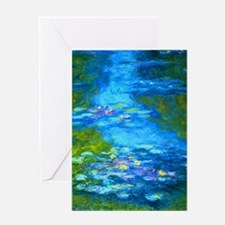 Unique Water lilies Greeting Card
