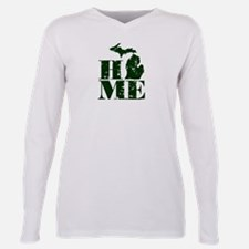 HOME - Michigan Plus Size Long Sleeve Tee