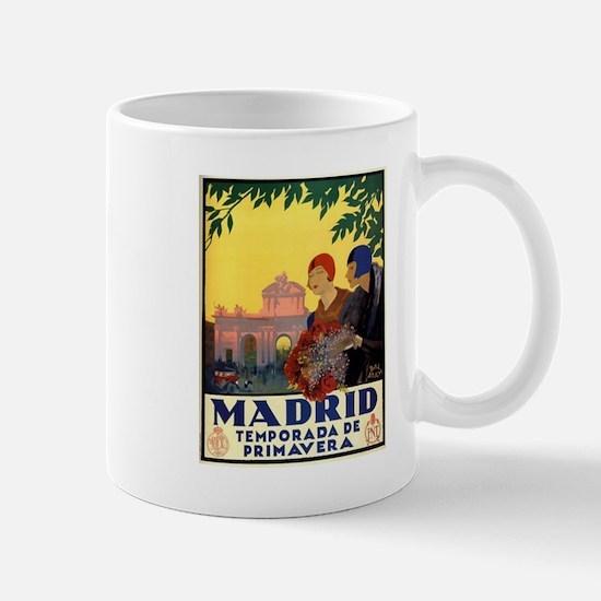 Madrid Temporada de Primavera - Vintage Trave Mugs