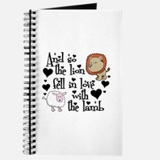 The lion fell in love with the lamb Journal
