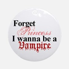 2-1princessvampire.png Round Ornament