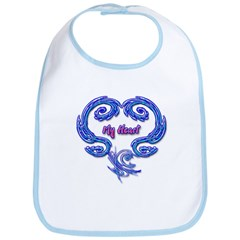 My Heart Bib