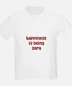 happiness is being Zara T-Shirt