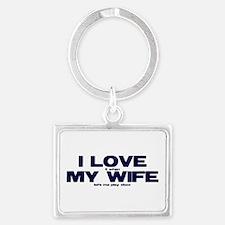 I love my wife Xbox funny Keychains