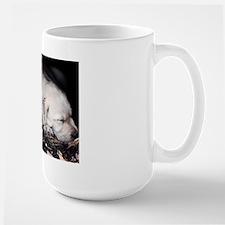 Labrador puppy lover Large Mug, elpace