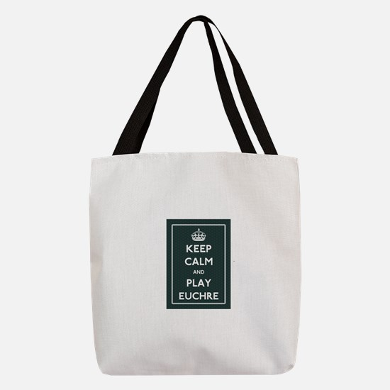 Euchre Polyester Tote Bag