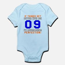 09 I'm Approaching Perfection Birt Onesie