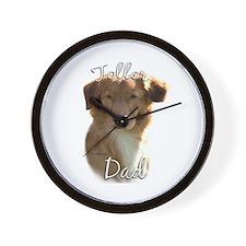 Toller Dad2 Wall Clock