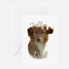 Toller Dad2 Greeting Card