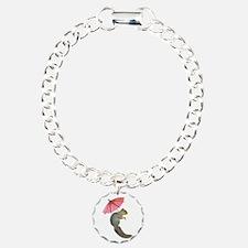 Squirrel Pink Parasol Bracelet