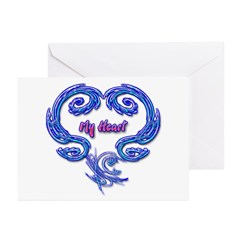 My Heart Greeting Cards (Pk of 10)