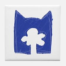 Skyclan BLUE Tile Coaster