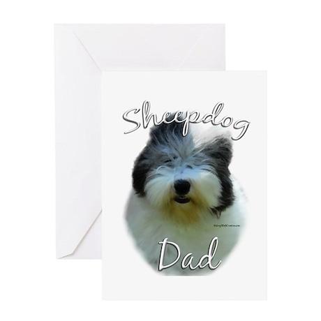 Old English Dad2 Greeting Card