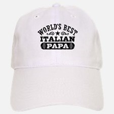 World's Best Italian Papa Baseball Baseball Cap