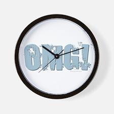 OMG Design Wall Clock