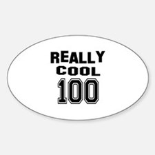 Really Cool 100 Birthday Decal